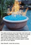 Fire Glass Produces More Heat Than Real Wood