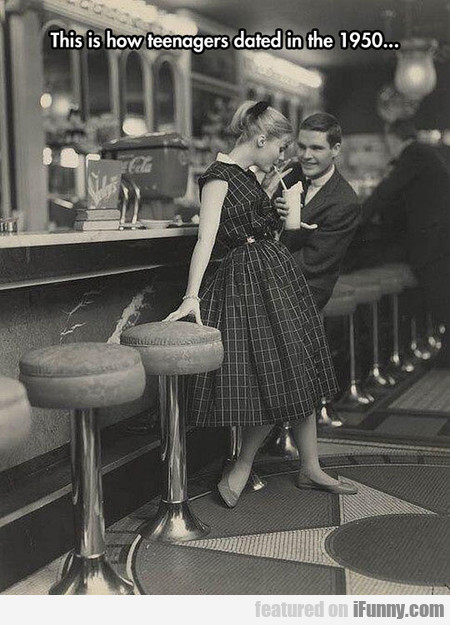 This Is How Teenagers Dated In The 1950...