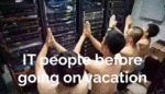 It People Before Going On Vacation