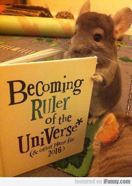 becoming ruler of the universe