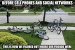 Before Mobiles And Social Networks