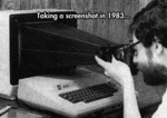Taking Screenshots In 1983