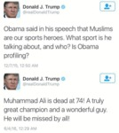 Obama Said In His Speech That Muslims...