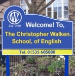 The Christopher Walken. School, Of English.