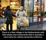 There Is A Fake Village In The Netherlands With...