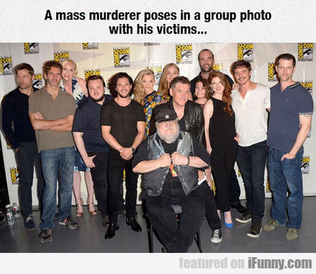 A Mass Murderer Poses In A Group Photo