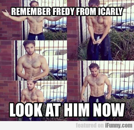 Remember Fredy From Icarly?