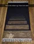 This Is The Evilest Rug I Have Ever Seen