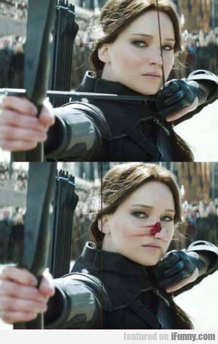 Jennifer Lawrence losing her nose