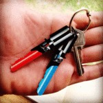 Light Saber Keys For True Star Wars Fans