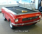 I Want This Car Billiard Table