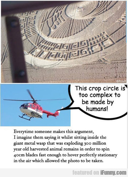 This Crop Circle Is Too Complex To Be Made By...