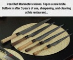 Iron Chef Morimoto's Knives Collection