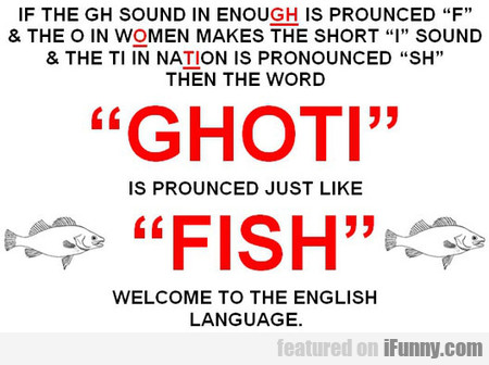 English Language Is So Confusing