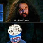 Yer A Blizzard, Harry