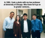 In 1995,i Took A Photo With My Law Professor