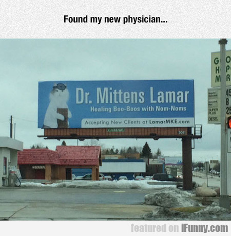 I Found My New Physician...
