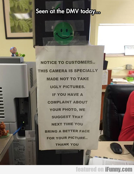 Notice To Customers...