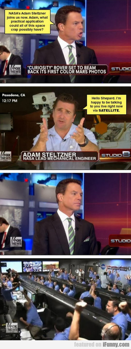 Nasa's Adam Steltzner About The Space Crap