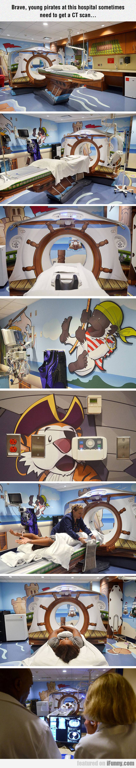 Brave, Young Pirates At This Hospital