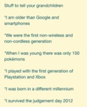 Stuff To Tell Your Grandchildren