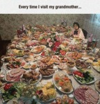 Every Time I Visit My Grandmother...