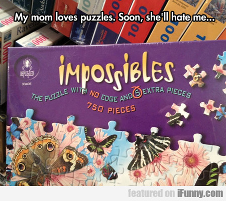 My Mom Loves Puzzles