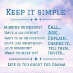 Life Is Too Short For Drama