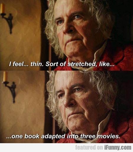 Oh What Have You Done, Peter Jackson?