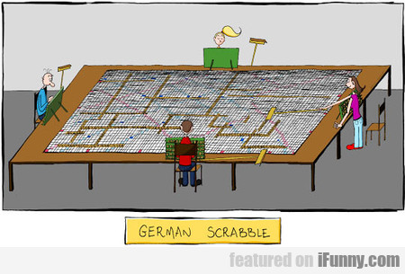 German Scrabble Players Have A Hard Time