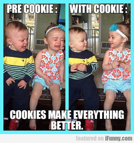 Cookies Make Everything Better