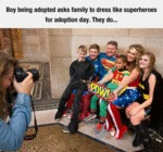 Boy Being Adopted Asks Family To Dress Like...