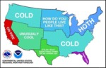 Us Weather By Regions