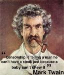 Censorship Is Telling A Man He Can't Have A Steak