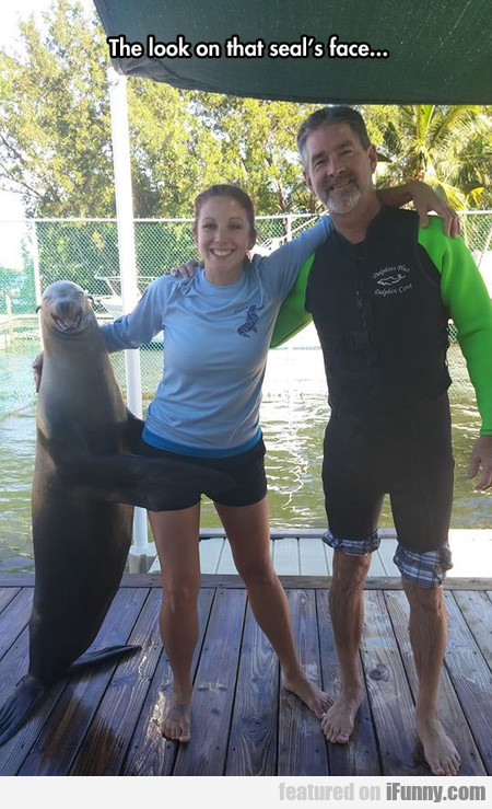 Apparently She Received A Seal Of Approval