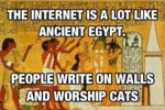 Internet Vs. Ancient Egypt