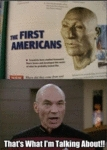 Jean-luc Picard - The First American