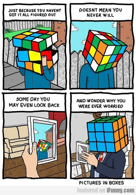 The Hardest Puzzle To Solve Is Yourself