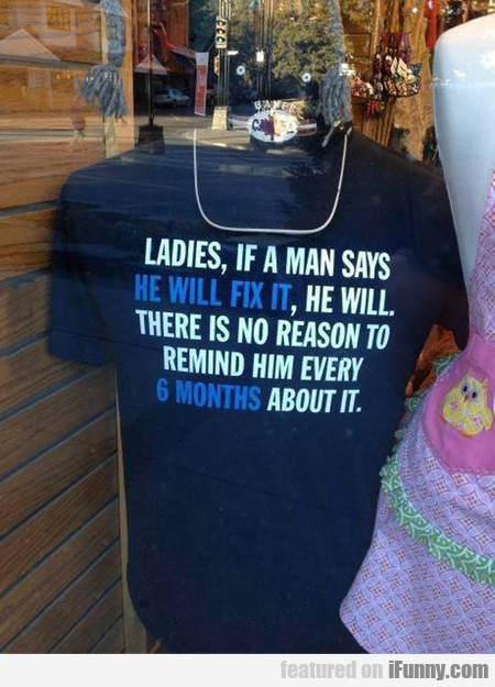 I Mean, Seriously Ladies