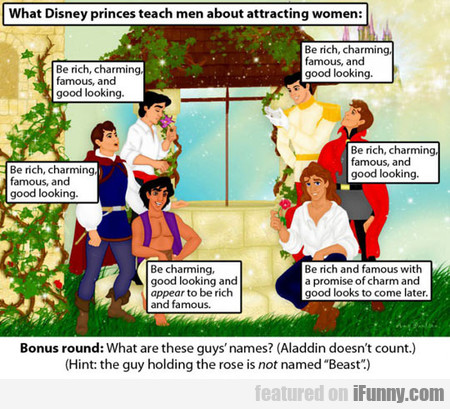 What Disney Princes Teach Men About Attracting...