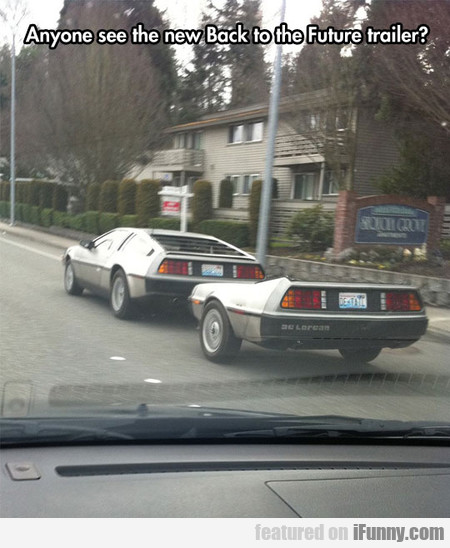 Anyone See The New Back To The Future Trailer?