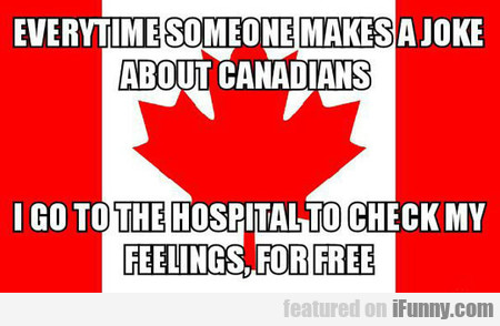 Making Jokes About Canadians