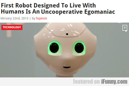 First Robot Designed To Live With Humans