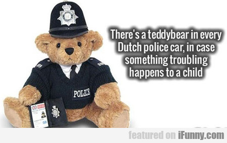 Dutch Police Doing It Right