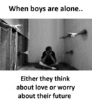 When Boys Are Alone..