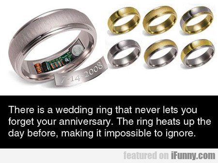 There Is A Wedding Ring That Never Lets You Forget