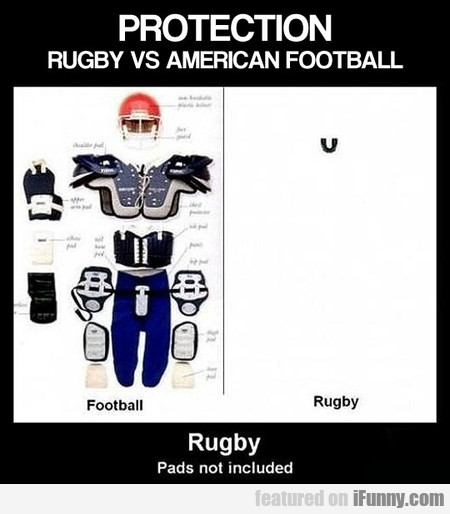 Rugby Vs. American Football