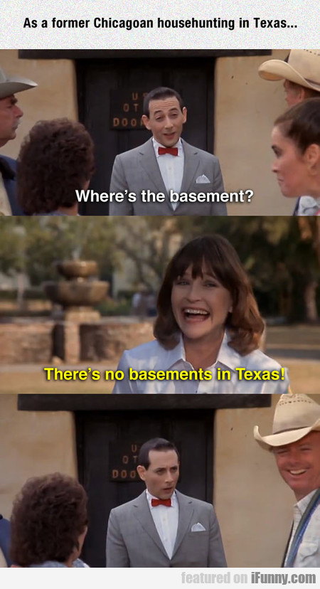 As A Former Chicagoan Househunting In Texas...