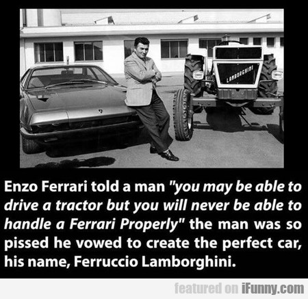 Putting Mister Ferrari In His Place