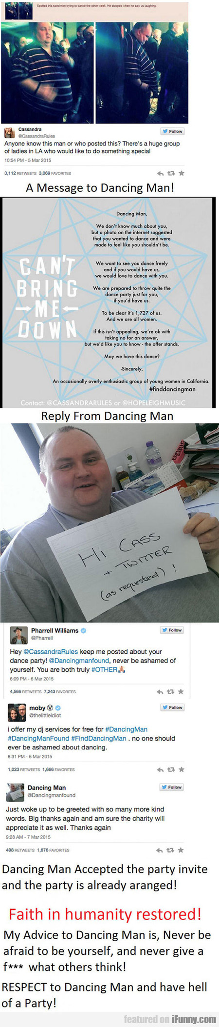 The Story Of Dancing Man